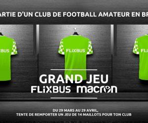 Macron mouille le maillot avec FlixBus