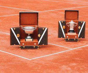 Roland-Garros – Louis Vuitton dévoile deux malles qui accueilleront les trophées