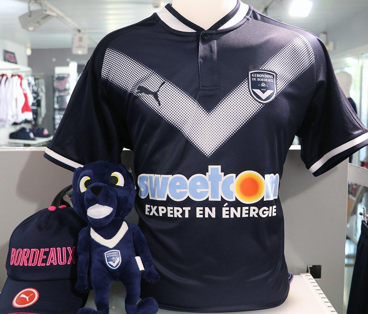 48e5f015c779e Puma dévoile le nouveau maillot domicile des Girondins de Bordeaux ...