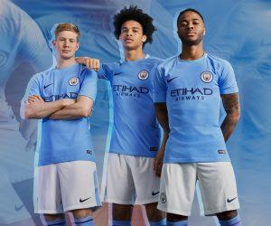 Nike dévoile le nouveau maillot domicile 2017-2018 de Manchester City