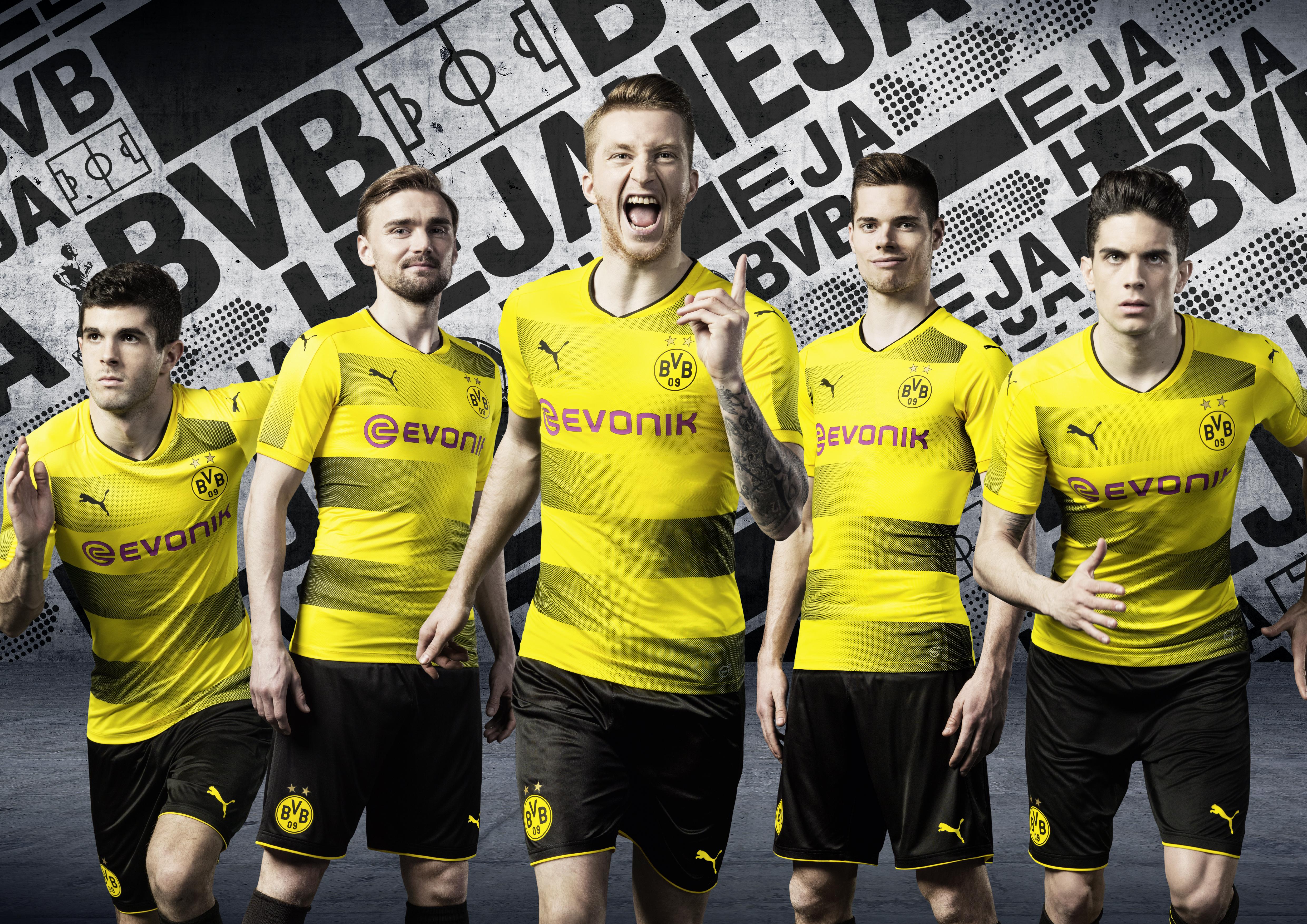 Les joueurs de Dortmund porteront des messages de Fans sur les nouveaux maillots pour la fin de saison