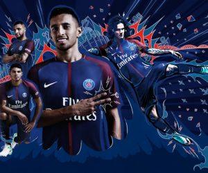 Le PSG dévoile son nouveau maillot domicile 2017 – 2018 (Nike)