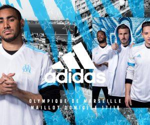 Les nouveaux (et derniers) maillots adidas de l'Olympique de Marseille pour 2017-2018