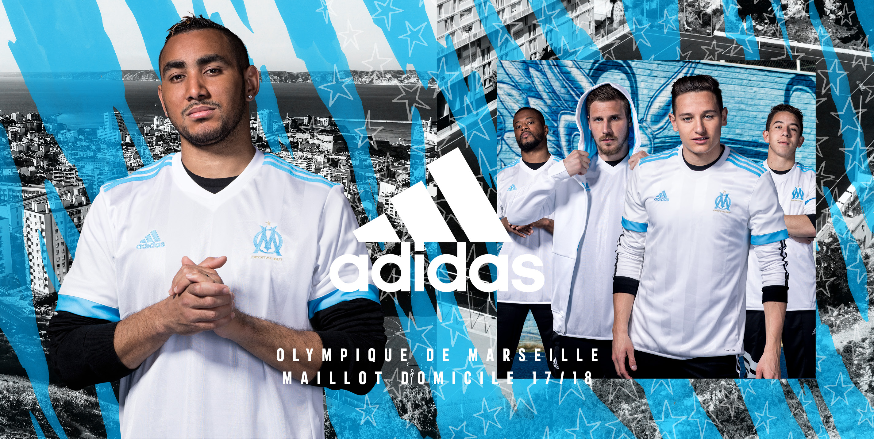 Maillot Extérieur Olympique de Marseille Maxime LOPEZ
