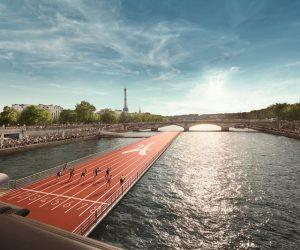 Paris 2024 – Ubi Bene va installer une piste d'athlétisme flottante sur la Seine