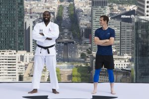 Quand Andy Murray rencontre Teddy Riner, Under Armour fait les choses en grand