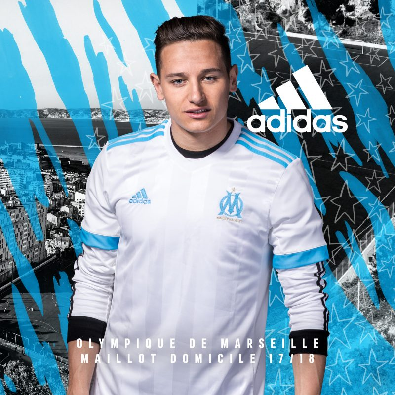 Maillot THIRD Olympique de Marseille Grégory SERTIC