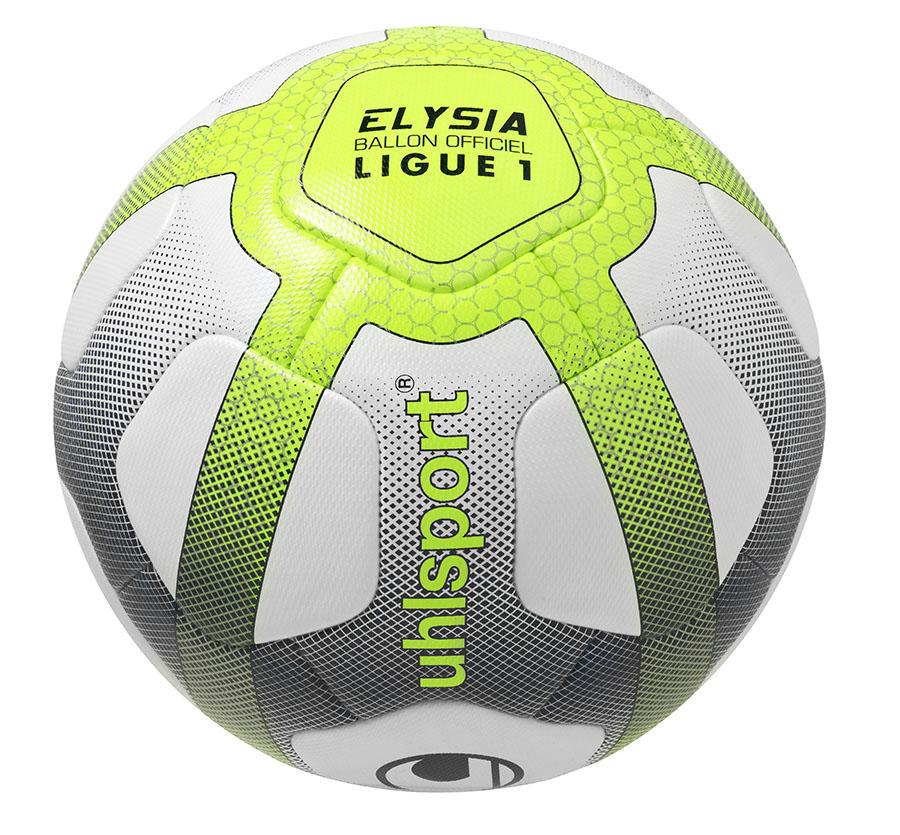 uhlsport pr sente elysia ballon officiel de la ligue 1 conforama 2017 2018. Black Bedroom Furniture Sets. Home Design Ideas