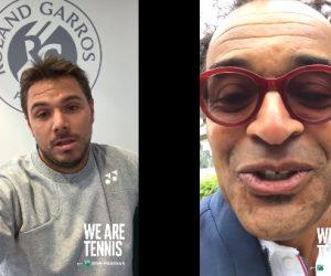 BNP Paribas met en scène Wawrinka et Noah à l'occasion de Roland-Garros 2017