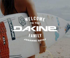 Surf – Johanne Defay nouvelle ambassadrice de Dakine