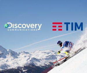 Discovery signe avec l'opérateur TIM qui devient «Diffuseur Officiel Mobile» des JO 2018 et 2020