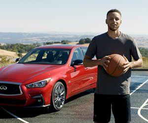 Stephen Curry nouvel ambassadeur d'INFINITI