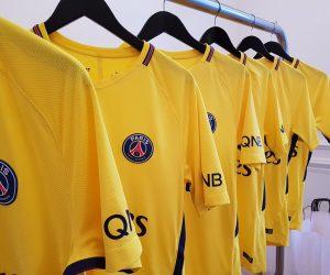 Nike et le PSG dévoilent officiellement le maillot jaune extérieur 2017-2018