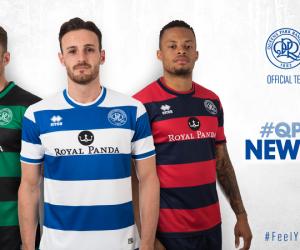 Errea présente les nouvelles tenues de Queens Park Rangers FC pour la saison 2017-2018