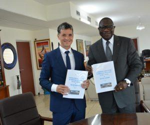 Signature de la Convention de partenariat entre Winwin Afrique et le Ministère des Sports et des Loisirs de Côte d'Ivoire