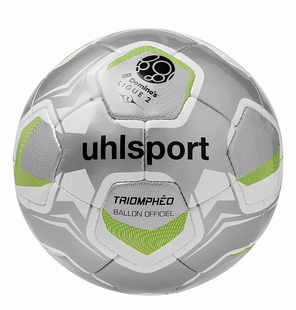 uhlsport d voile triomph o ballon officiel de la domino 39 s ligue 2 pour 2017 2018. Black Bedroom Furniture Sets. Home Design Ideas