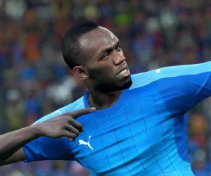 Le sprinter Usain Bolt nouvel ambassadeur de PES 2018 aura son double dans le jeu