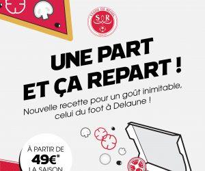 Domino's Ligue 2 – Le Stade de Reims lance sa campagne d'abonnement avec des offres à la carte façon pizza