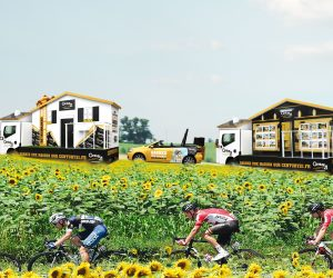 Comment Century 21 active son premier Tour de France