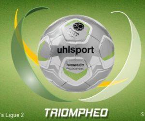 uhlsport dévoile «Triomphéo», ballon officiel de la Domino's Ligue 2 pour 2017-2018