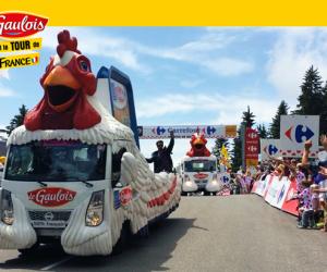Comment Le Gaulois compte émerger pendant le Tour de France 2017