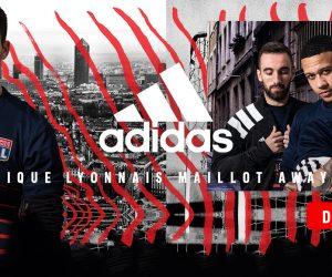 Concours – Nous vous offrons le nouveau maillot extérieur de l'Olympique Lyonnais 2017-2018 (adidas)