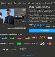 BON PLAN : Offrez-vous «L'INTEGRALE CANAL» pour 69,90€/mois au lieu de 99,90€/mois pendant 2 ans