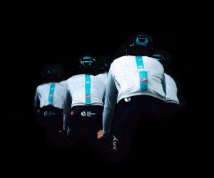 Le Team Sky affiche ses fans sur son maillot blanc spécial Tour de France 2017