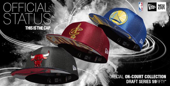 NBA – Les casquettes de la Draft 2017 par New Era