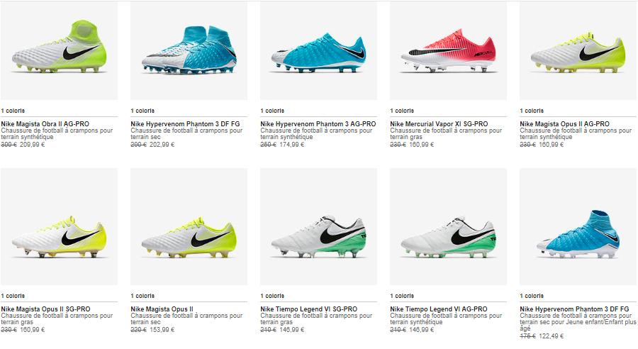 BON PLAN : Jusqu'à 40% sur 1900 produits Nike sur le store