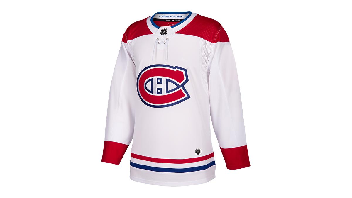 6bc3b8abb65946 NHL – Les nouveaux maillots des Canadiens de Montréal par adidas Hockey.  Lecteur vidéo
