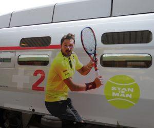 Sponsoring – TGV Lyria renforce sa visibilité auprès de Stan Wawrinka