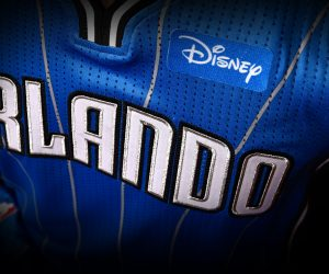 NBA – Disney sponsor maillot d'Orlando Magic