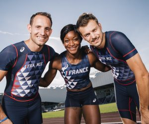Athlétisme – Les tenues Asics de l'Equipe de France pour les Mondiaux de Londres 2017
