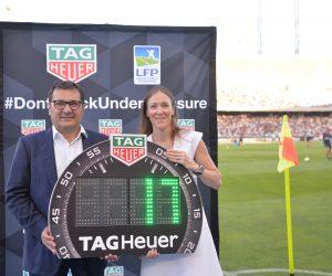 Sponsoring – Tag Heuer horloger officiel de la Ligue 1 Conforama