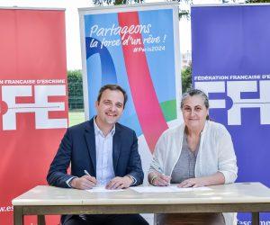 MMA et Errea s'associent à la Fédération Française d'Escrime