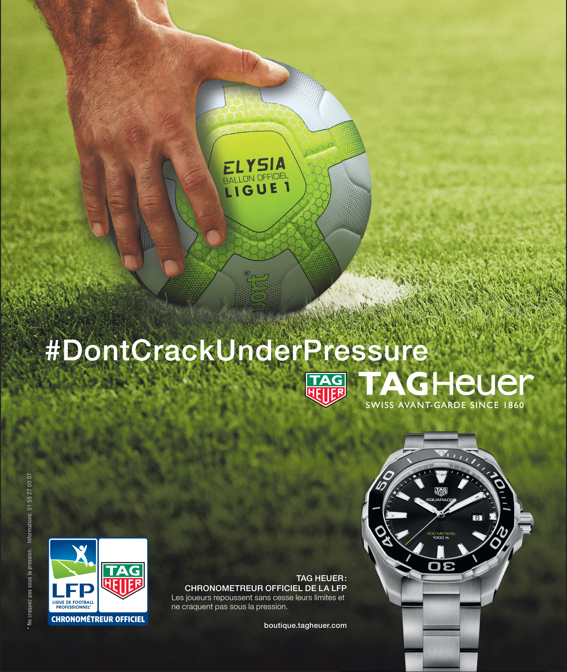sponsoring tag heuer horloger officiel de la ligue 1 conforama. Black Bedroom Furniture Sets. Home Design Ideas