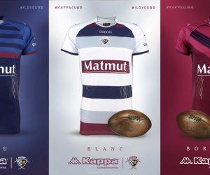 Rugby – L'UBB et Kappa dévoilent les nouveaux maillots un 14 juillet