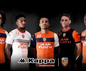 A quoi ressemblent les premiers maillots Kappa du FC Lorient ?