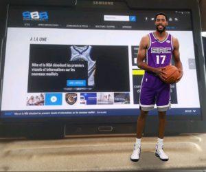 NBA – Sacramento utilise la Réalité Augmentée pour présenter ses nouveaux maillots Nike