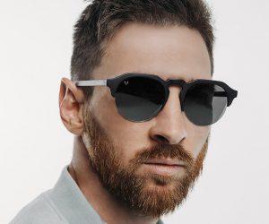 Leo Messi signe avec la marque de lunettes de soleil Hawkers