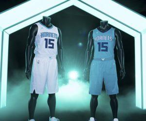 NBA – Les nouveaux maillots des Charlotte Hornets avec le logo Jordan Brand