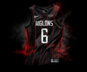 Les maillots de Ligue 1 Conforama façon NBA (Maillots Nike avec sponsors) par Graphic UNTD