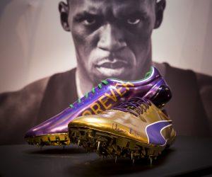 Athlétisme – Puma dévoile les dernières pointes d'Usain Bolt pour les Mondiaux de Londres 2017