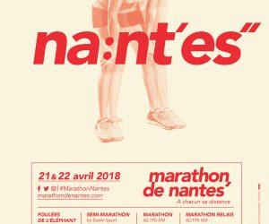 Une nouvelle identité visuelle pour le marathon de Nantes