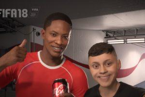 Coca-Cola s'offre une campagne publicitaire dans le jeu vidéo FIFA 18