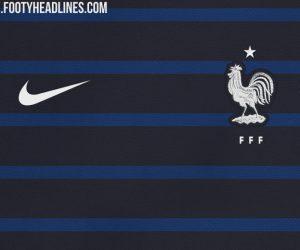 Premier aperçu du nouveau maillot de l'Equipe de France pour la Coupe du Monde 2018 ?