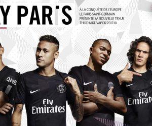 Nike et le PSG dévoilent le maillot Third noir 2017-2018
