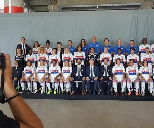 April sponsor maillot face de l'OL Féminin jusqu'en 2020