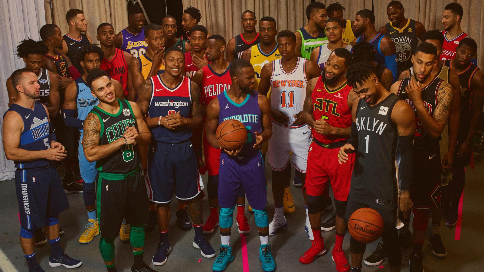 44fc49c9960 NBA - Combien de franchises ont signé un contrat de sponsoring ...